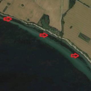 Badekar til havørreder på kysten