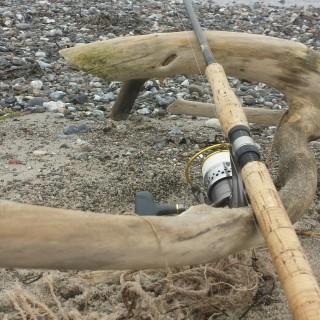 spinnestang til kystfiskeri