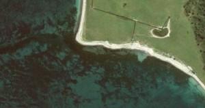 Kystpladser til havørred med Google Earth
