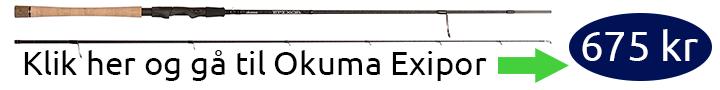 Okuma Epixor tilbud spinnestang