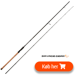 Billig god fiskestang - Savage Gear spinnestang